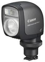 Canon VFL-2 Leuchte  die Videoblitzleuchte VFL-2 wird auf den Zubehörschuh aufgesteckt und liefert bei der Aufnahme von Videos zusätzliches Licht, bei Fotos arbeitet sie in der Blitzfunktion. So kann man auch bei schlechten Lichtverhältnissen bewegte