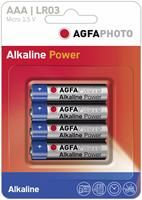 AGFAPhoto Micro AAA LR03 4er Pack, 1.5V