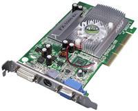 AXLE GeForce 5500 FX 256MB AGP  GeForce 5500 FX, 256MB DDR1, 128-bit, DVI-, VGA- und TV-Ausgang, 275MHz GPU, 400MHz Speicher, Shader Model 2.0