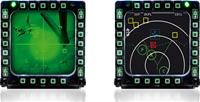 Thrustmaster MFD Cougar Pack 2x F-16 MFD-Replika für PC  enthält 2 MFD-Rahmen mit je 20 Tasten und 4 Schaltern, regelbare Beleuchtung