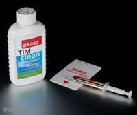 Akasa AK-MX004 Tim Kit  12ml Reinigungsflüssigkeit, inkl. AK-455-5G High Performance, 5g, 2.4W/mK