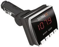 Technaxx FMT100FM Transmitter  LED, 87.7-108MHz, MP3/WMA, Freisprecheinrichtung, Bluetooth, SD Kartenslot