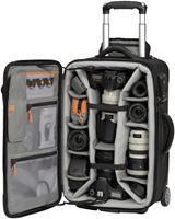 Lowepro Pro Roller x200 Koffer schwarz  für 1-2 Professionelle DSLR Kameras mit Batteriegriff, 6-8 zusätzliche Objektive (300mm f/2.8), Blitze oder Zubehör, bis zu 17' Notebook, Innenmaß: 31x50.5x16.8cm, Gewicht: 6kg