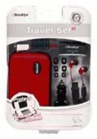 Full Pack Brooklyn Travel Set NDSi  red, Full Pack Brooklyn Travel Set Rot Nintendo DS Zubehör, deutsch