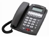 DeTeWe Aastra 1930  analoges Komforttelefon, 3-zeiliges LC-Display mit einstellbarem Kontrast, CLIP, Anrufliste, Wahlwiederholung, Telefonregister, Zielwahltasten, Datum und Uhrzeitanzeige, Anschluss für Headset, optische