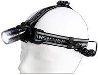 Ansmann HD3 Stirnlampe schwarz,  5000 Lux, ca. 500m Leuchtweite, bis 10h Leuchtdauer