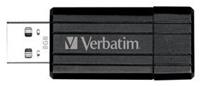 Verbatim PinStripe 8GB  USB2.0, schreiben max. 10MB/s, lesen max. 20MB/s