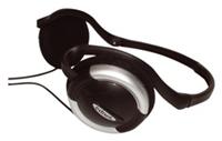 ednet Travel Headset schwarz  20Hz-20kHz, 32 Ohm, Nackenbügel, 2.2m Kabel, Mikrofon 30Hz-16kHz, 2.2kOhm, faltbar