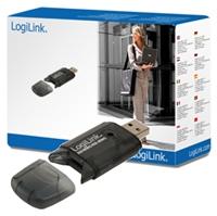 LogiLink SD/MMC Kartenleser schwarzSie bestellen zum besten computeruniverse Preis!