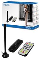 LogiLink DVB-T Receiver  USB2.0, Timeshift, Teletext, inkl. Fernbedienung, Antenne