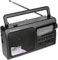Panasonic RF-3500 schwarz  1 Watt, Kopfhörer-Out, Batterie/Netzbetrieb