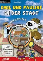 Emil und Pauline in der Stadt -  Suchspiele für die Vorschule Emil und Pauline in der Stadt - Suchspie Deutsche Version