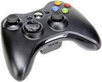 Microsoft Xbox 360 Wireless Controller schwarz,  Xbox 360 Zubehr