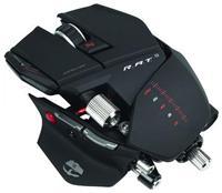 Saitek Cyborg R.A.T.9 Wireless  5600dpi, 5-Tasten mit Scrollrad, 4 frei einstellbare dpi-Stufen, 5 Gewichte à 6g, kabellos