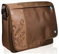 Port Macao Messenger braun fr 39.1cm/15.4', Nylon, verstrktes Notebookfach mit Schutzpolsterung, lngenverstell- barer Schultergurt mit integrierter Tasche aus Neopren, Zubehrfach mit Reiverschluss, Handyfach mit weichem Baumwollgewebe augekleidet, Toploader