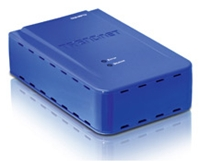 TRENDnet TEW-MP1U blau extern, USB2.0, WLAN b/g, LAN, DHCP (Article no. 90389260) - Picture #1