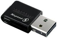 TRENDnet TEW-649UB  WLAN b/g/n, USB2.0, 64/128bit WEP, WPA, WPA2, 300Mbit