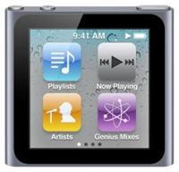Apple iPod nano 6G 16GB graphite 1.54