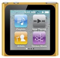 Apple iPod nano 6G 16GB orange 1.54