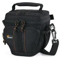 Lowepro Adventura TLZ 15 schwarz  13x7.5x13.5cm, für kompakte DSLRs, bis 12.5cm, zusätzlicher Platz für Kabel, Filter, Batterie, Speicherkarte, etc.