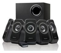 Creative Inspire A520 5.1 System 37 Watt, Bassreflex, 40Hz-20kHz, Kabelfernbedienung