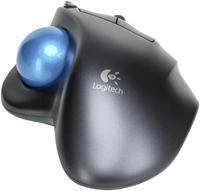 Logitech Wireless Trackball M570 schwarz  Funk, USB-Empfänger, Laserabtastung, 4 Tasten, Scrollrad, kabellos, Logitech Unifying
