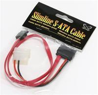 Scythe Slimline SATA Kabel 0.45m