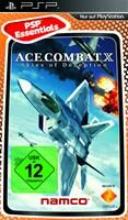 Ace Combat X Skies of Deception Essentials, Sony PSP, Deutsche Version