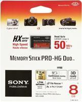Sony Memory Stick Pro HG Duo HX  8GB