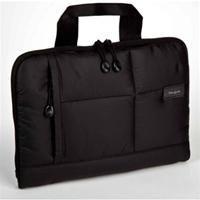 Targus Crave Slipcase schwarz  für iPad, Nylon, seitliche Reißverschlusstaschen zur Aufbewahrung eines Netzteils oder anderer Zubehör- teile, Tragegriffe versenkbar, strapazierfähig, Wasser- und Flecken abweisend, mit kratzfester Auskleidung