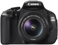 Canon EOS 600D Kit + EF-S 18-55mm IS II  28 Megapixel, CMOS-Sensor, DIGIC 4 Prozessor, 7.6cm/3' drehbahres Display, SD/SDHC/SDXC, USB-/AV-Anschluss, HDMI, Scene Intelligent Auto Modus, HD-Movie, 9-Punkt-Weitbereich-AF, Basic+ und Creative-Filter, inklusive 18-55mm