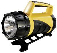 Varta Industrial Lantern 4D  Laternenlampe, Kryptonlicht, Leuchtweite 110m, 0.25lux, wasserdicht bis 1m, mehrstufig verstellbarer Standfuss, Kunststoffgehäuse, 14 Stunden Batterielebensdauer,