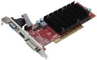 Club3D Radeon HD5450 PCI Edition  512MB DDR2 64bit, PCI, VGA, DVI, HDMI, HDCP, passiv gekühlt, 650MHz GPU, 666MHz Speicher, DirectX 11, OpenGL 4.1, 7.1 HD Audiocontroller, Low Profile