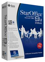 StarOffice 9 Deluxe Mac, Deutsche Version, 5 Macs