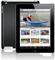 Nextware Carbon Clip-On schwarz  für iPad 2, Hartplastik Schale in sportlicher Karbon-Optik