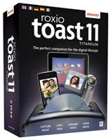 Roxio Toast 11 Titanium Mac Mac, deutsch, 1 Benutzer