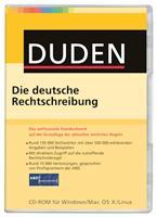 Duden Die deutsche Rechtschreibung   .,