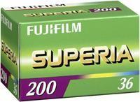 Fujifilm Superia 200 135/36 5Stück    ,   5er Pack, Kleinbildformat 135-36, ISO 200