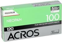 Fujifilm Neopan Acros 100 5er Pack, Rollfilmformat 120, ISO 100