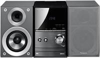 Panasonic SC-PM500 silber  2-Wege, MP3, CD-RW, Radio, 2x 20 Watt, USB2.0, iPod-/iPhone-Dock, Fernbedienung