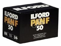 Ilford Pan F Plus 135/36