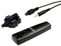 Kaiser Twin 1 R4 C Infrarot/Kabel Fernauslöser,  für Canon Sender und Empfänger, Auslösekabel und weiteres Zubehör, Sender mit großer Auslösetaste, Funktionsanzeige-LED, Empfänger mit integrierten Infrarot- Sensoren, Ein/Aus-Schalter,
