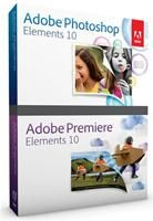 Adobe Photoshop & Premiere Elements 10 Studenten-Version, nur mit Nachweis