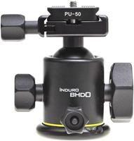 Induro BHD0 Kugelkopf  Magnesium, 94mm Höhe, 400g Gewicht, 8kg max. Belastbarkeit, Arca-Swiss Schnellwechselplatte