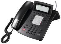Agfeo ST 42 Systemtelefon schwarz  S0/UP0 Port, Anfrufbeantworter, Freisprechen, 32bit Signalprozessor, Multifunktionsdisplay, Telefonbuch, 10 Funktionstasten (doppelt belegbar), Haussteuerung