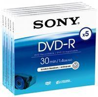 Sony DVD-R 8cm 30 Minuten 1.4GB  ,