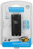 Mad Catz Wii Rechargeable Power Solution schwarz