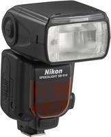 Nikon SB-910  Zoomautomatik, AF-Hilfslicht, Leiterzahl 34/48 ISO100/ISO200, Automatischer IGBT, Probeblitz, Vorblitze, Nikon Creative Lighting System, Überhitzungsschutz, Firmware-Update