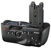 Sony VG-C77AM Hochformatgriff schwarz  Aufnahme von 2 Akkus, zusätzliche Bedienelemente und Auslöser, für Alpha 77
