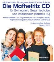 Die Mathefritz CD Windows, deutsch